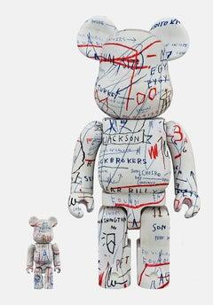 Basquiat Bearbrick 400% Companion (Basquiat BE@RBRICK)