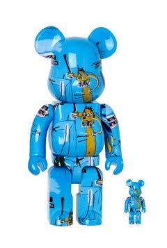 Basquiat Bearbrick 400% Companion (Jean-Michel Basquiat BE@RBRICK)