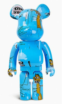 Jean-Michel Basquiat Bearbrick 1000% (Basquiat BE@RBRICK)
