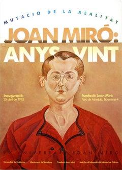 "Joan Miró - ""Anys Vint Poster"""