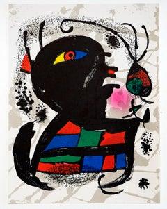 Joan Miro - Litografía Original III, IV & V
