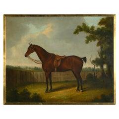 After John Ferneley Senior, Portrait of a Bay Hunter