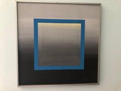 Mid Century Modern Geometric Painting