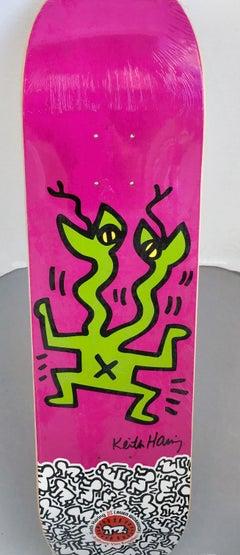 Keith Haring Skateboard Deck (Purple)