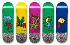 Five Skateboard Decks, Multiples, Street Artist, Pop Art, Contemporary Art