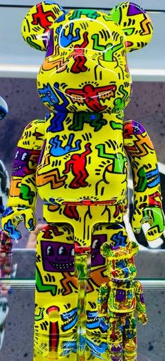 Keith Haring 400% Bearbrick Companion (Haring BE@RBRICK)