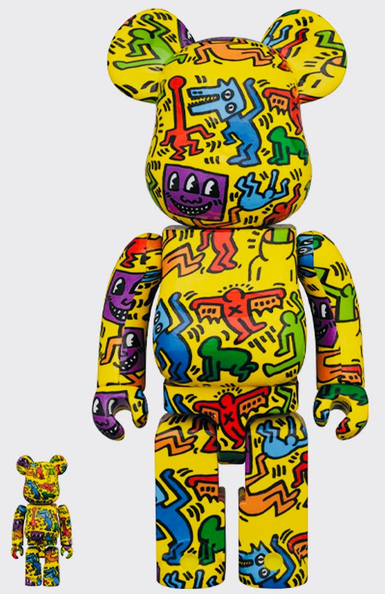 Keith Haring Bearbrick 400% Companion (Haring BE@RBRICK) For Sale 1