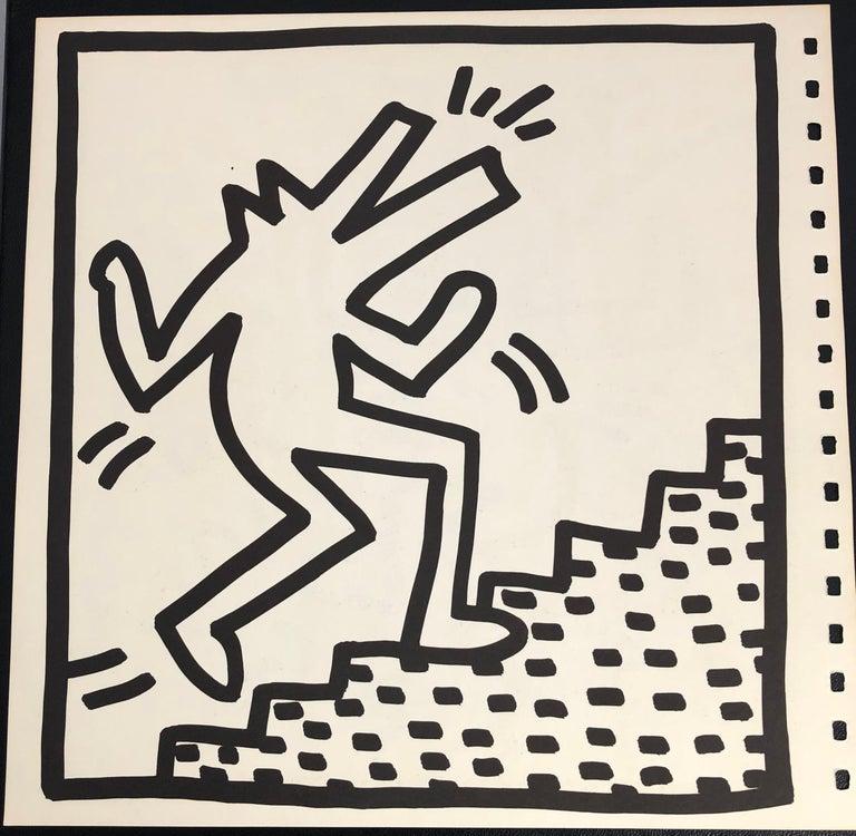 Keith Haring lithograph 1982 (Keith Haring barking dog)  - Print by (after) Keith Haring