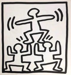 Keith Haring lithograph 1982 (Keith Haring prints)