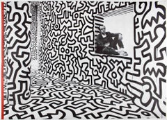 Keith Haring Pop Shop poster (vintage Keith Haring posters)