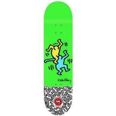 Keith Haring Skateboard Deck (Green Keith Haring figurative)