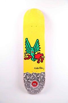 Keith Haring Skateboard Deck (Keith Haring dragon)