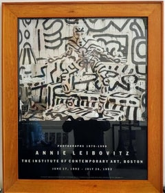 Rare Vintage 1992, Annie Leibovitz ICA, Exhibition Print, Framed