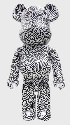 Keith Haring Bearbrick 1000% Companion (Haring BE@RBRICK)