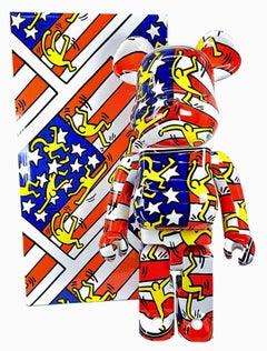 Keith Haring Bearbrick 1000% Companion (Haring Designer Con BE@RBRICK)