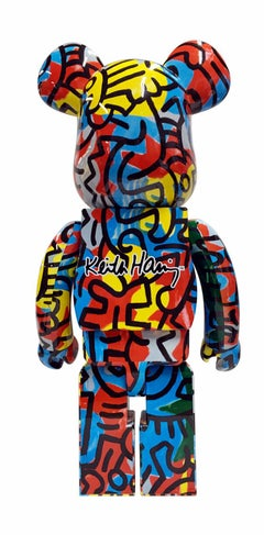 Keith Haring Bearbrick 1000% (Haring BE@RBRICK)