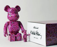 Keith Haring Bearbrick 400% Companion (Haring BE@RBRICK)