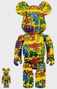 Keith Haring Bearbrick 400% Companion (Haring BE@RBRICK)