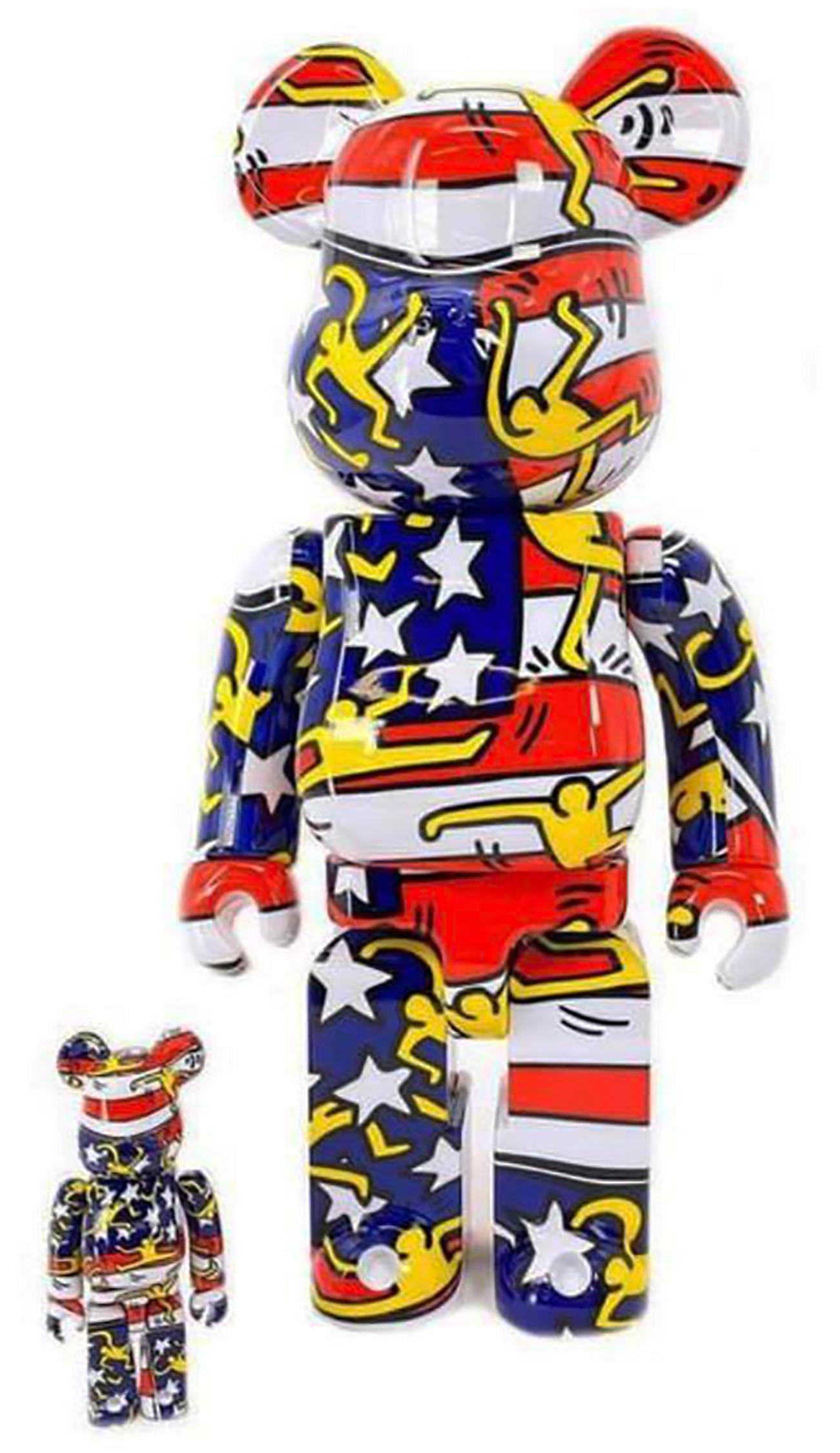 Keith Haring Bearbrick 400% Companion (Haring Designer Con BE@RBRICK)