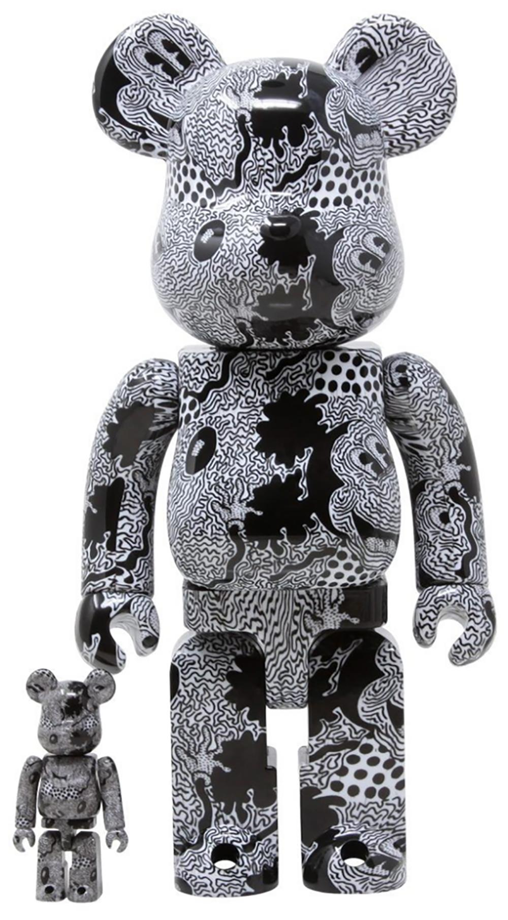 Keith Haring Bearbrick 400% Companion (Haring Mickey Mouse BE@RBRICK)
