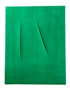 (after) Lucio Fontana - Composition - Pochoir