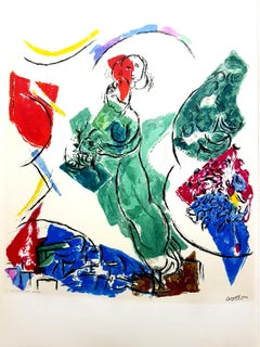 After Marc Chagall -  Lithograph