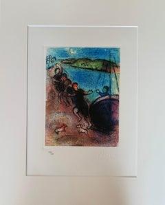 Arabian Nights - Original Lithograph - platesigned - numbered