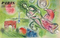 Romeo and Juliet (Paris Opera) - Lithograph, Mourlot 1965
