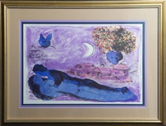 (Title Unknown)-Framed Lithograph