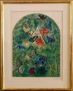 Tribe of Issacher, Hand-Signed, Lithograph in colors
