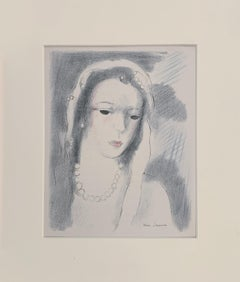 c. 1950 Lithograph (after) Marie Laurencin