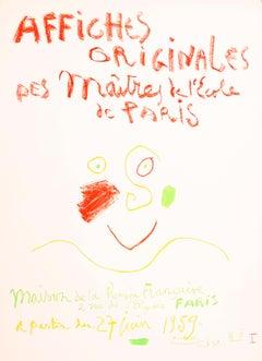 Affiches Originales des Maitres de L'Ecole de Paris-maison de la Pensée Francais