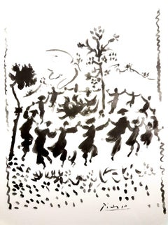 After Pablo Picasso - Peace Circle - Lithograph