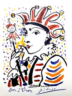 After Pablo Picasso - Carnaval - Lithograph