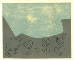 Bacchanale - Linocut Reproduction After Pablo Picasso - 1962