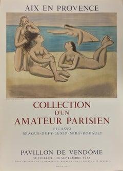 Collection d'un Amateur Parisien - Aix en Provence,  Lithographic Poster, 1958