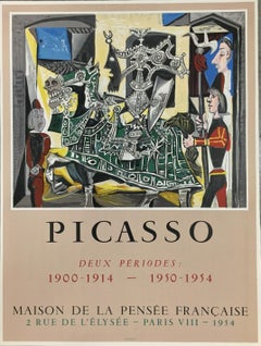Deux Périodes - Maison de la Pensée Francaise (after) Pablo Picasso, Lithograph