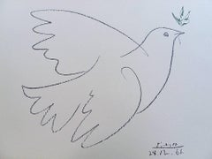 Dove of Peace - Lithograph