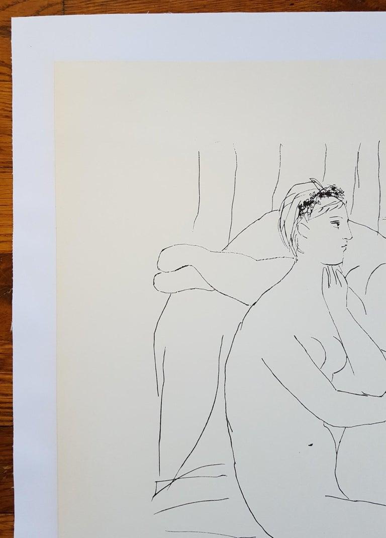 Expo 59 - Galerie de la Colombe - Cubist Print by (after) Pablo Picasso