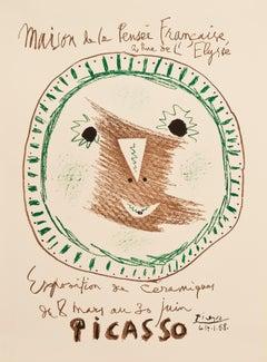 Exposition de Céramiques II - Maison de la Pensée Française, Poster