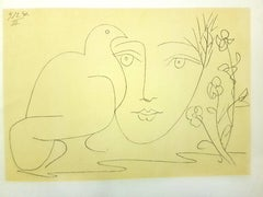 Face of Peace - Lithograph