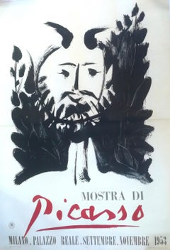Faun - Vintage Poster - Picasso Exhibition in Milan 1953