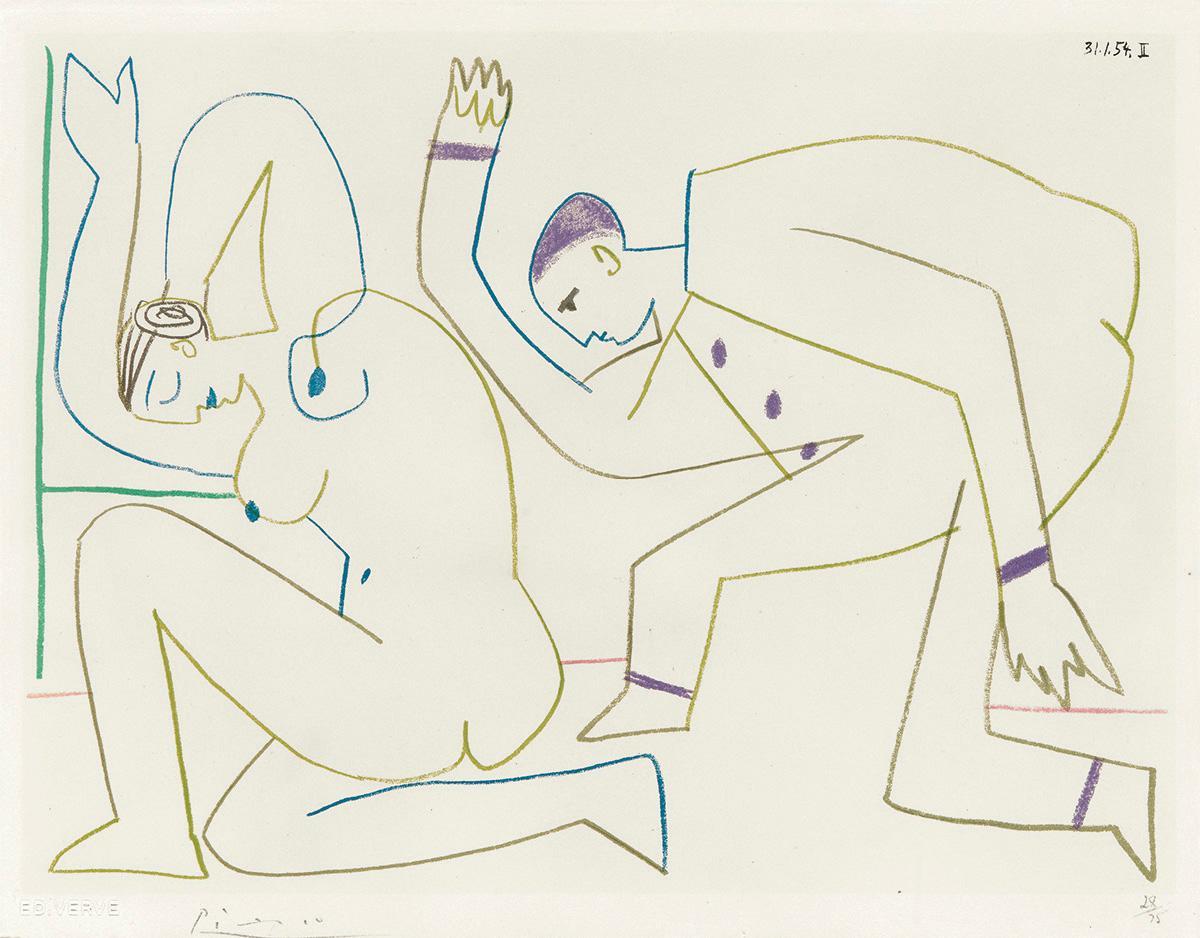 Femme nue et Homme