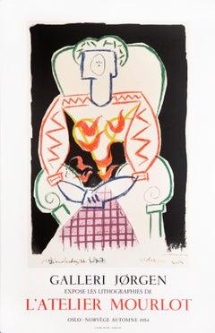 Galerie Jorgen, L'Atelier Mourlot by Pablo Picasso