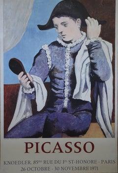 Harlequin - 1971 - Vintage Exhibition Poster - Modern