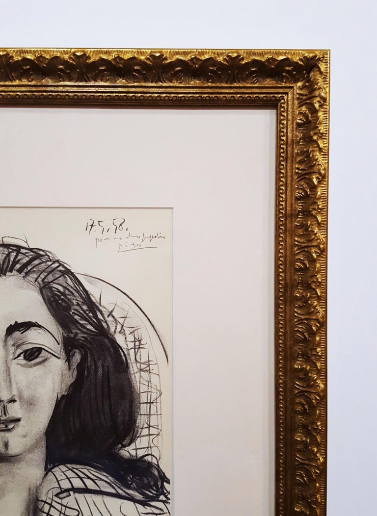 An original lithograph on wove paper after Spanish artist Pablo Picasso (1881-1973) titled