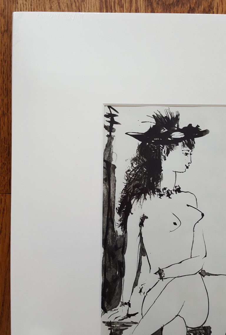 La Comedie Humaine - Gray Nude Print by (after) Pablo Picasso