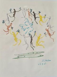 La Ronde de la Jeunesse, The Circle of Youth, after Picasso.