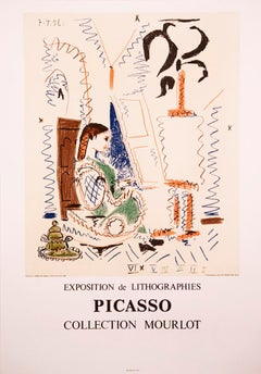L'atelier de Cannes (Cannes Studio) by Pablo Picasso - lithographic poster