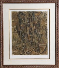 La Bouteille de Rhum, Hand-signed by Picasso circa 1965